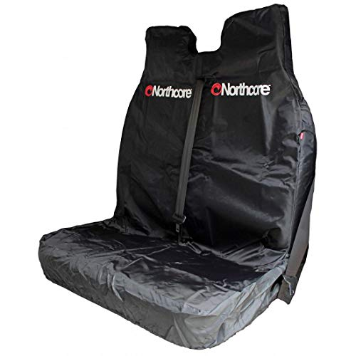 Northcore Waterproof Sports Double Front Van Car Seat Cover Black