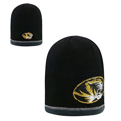 Top of the World Wendbar abrazed Skull Cap-NCAA Mütze Ohne Aufschlag Knit Hat, Unisex, Missouri Tigers -
