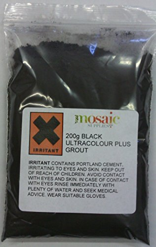 Black Mosaic Grout 200g