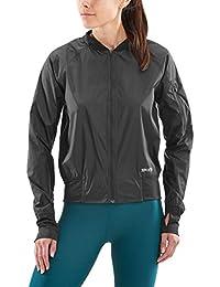 SKINS Activewear Trylen Womens Bomber Jacket Black FM 25b24650dd5