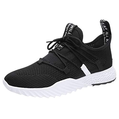 Sportliche Herren Arbeitsschuhe Leicht Atmungsaktiv Sneaker 39-44 athletische Walking-Laufschuhe Turnschuhe By Vovotrade -