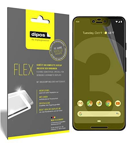 dipos I 3X Schutzfolie 100% passend für HTC Exodus 1 Folie I 3D Full Cover Displayschutzfolie