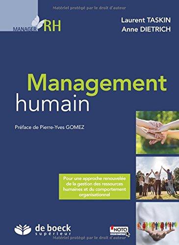 Management humain par Laurent Taskin