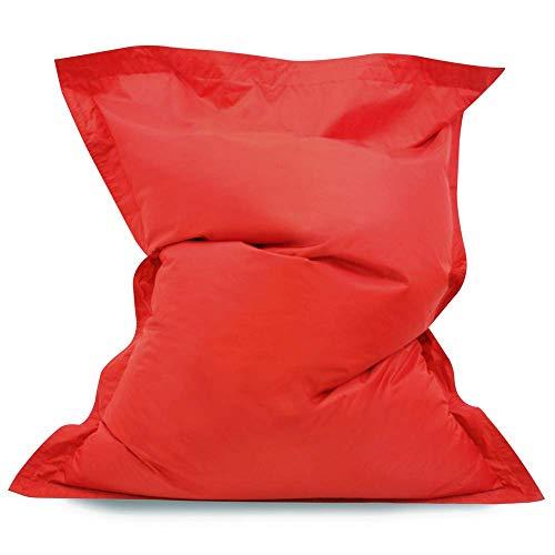 Kinder Baz Bag - 125cm x 100cm, Kinder Sitzsack – RIESE Außen Bodenkissen – Wasserabweisend