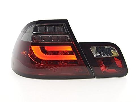 at72894–Feux arrière LED BMW SÉRIE 3E46Coupe Bj. 99–03rouge/noir