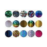 adesivi per unghie 25 colori/insieme Colorato Strumenti e accessori per trucco in Bellezza