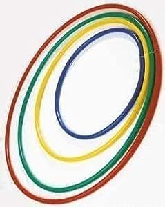 Kunststoff Reifen Polyethylen Ring Kinder Gym-pe Play Hula-hoop 76.2cm