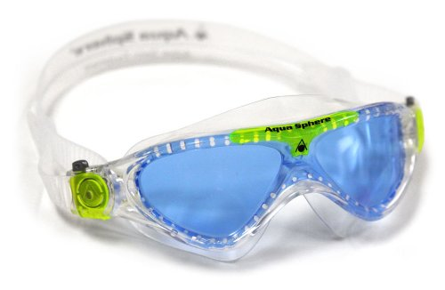 Aquasphere Vista Maske-Schwimmen Mehrfarbig (Blau/Grün)