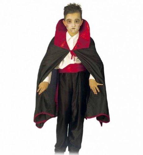 Dracula Vampir Umhang Kinder Kostüm Gr 152-164