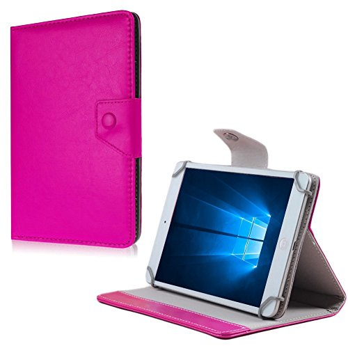na-commerce Tablet Tasche MP Man MPQC1030 MPQC1040i Hülle Schutzhülle Case Cover Universal, Farben:Pink