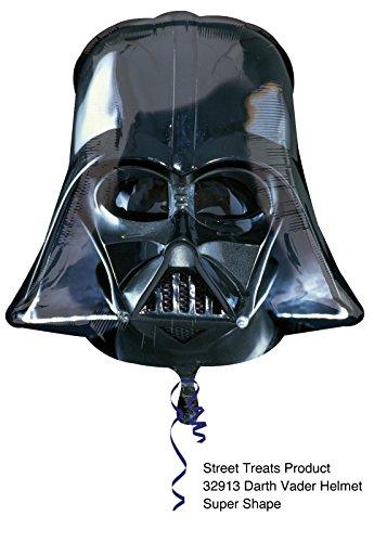 Darth Vader ca. 80cm Luftballons Folienballon Party DekorationGeburtstag ()