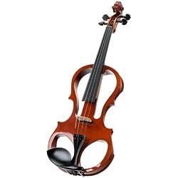 Classic Cantabile EV-81 - Set de violín eléctrico (con auriculares)