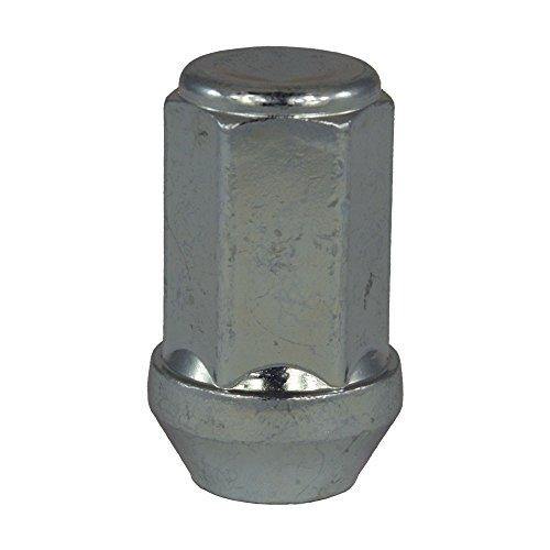 EvoCorse Écrou de roue fermé M14x1.5, Clé 19, Longueur 41 mm, Blanc galvanisé, 4 pcs