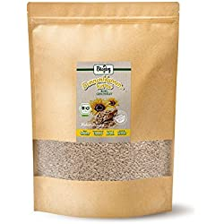 BIO-Sonnenblumenkerne geschält   Kerne für Salat-Mix & Desserts, zum Brot-Backen und Knabbern   ohne Schale, naturbelassen & ungesalzen   ohne Zusätze in Rohkost-Qualität (2,5 kg)