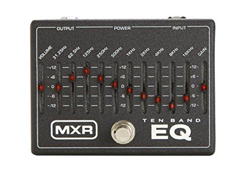 PEDALES EFECTO MXR   DUNLOP (M108) 10 BAND GRAPHIC EQ