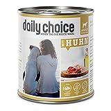 daily choice | Mit Huhn | 6 x 800 g | Nassfutter für Hunde | Viel Fleisch | Getreidefrei | Optimal verdaulich Tierversuche, Zucker, Farb- & Konservierungsstoffe
