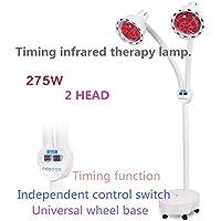 BIOFAMILY Doppelköpfiger Infrarot Therapie Lampen unabhängiger Schalter Kontrollwinkel frei.275W preisvergleich bei billige-tabletten.eu