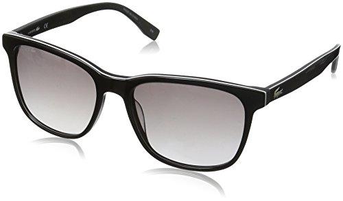 Lacoste Unisex-Erwachsene L833S 001 55 Sonnenbrille, Schwarz (Black),