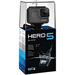 GoPro Hero5 Black - Cámara deportiva de 12 MP (4K, 1080p, WIFI + Bluetooth