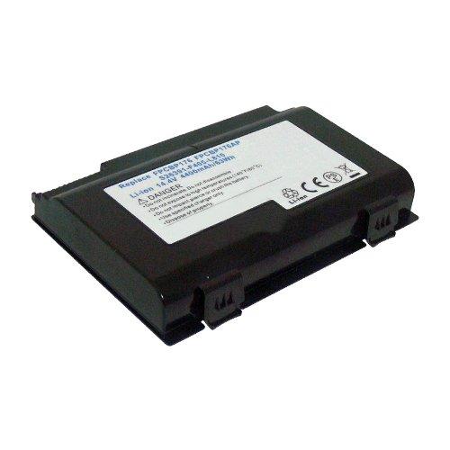 amsahr BP176-02 Ersatz Batterie für Fujitsu BP176, Celsius H250, LifeBook: E8410, E8420, A1220, A530, A6210 schwarz - Fujitsu-batterie-ersatz