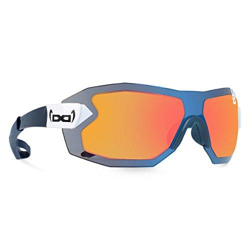 gloryfy unbreakable eyewear Sonnenbrille G9 RADICAL Helioz World Run, blau
