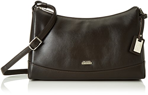Picard Really borsa a tracolla pelle 32 cm Marrone (Cafe)