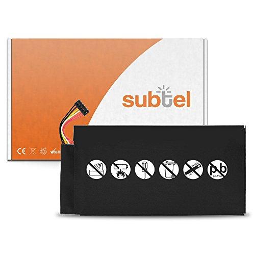 subtel Batterie (4300mAh) pour Google Nexus 7 (2012) / ASUS Pad ME370T / C11-ME370T / C11-EP71 / ME3PNJ3