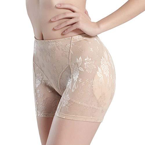 Ning Damen Sexy Unterwäsche Hip Enhancer Butt Lifter Kolbenheber Padded Kontrollhöschen (2 Stück),Natural,L (Butt Lifter Und Hip Enhancer)