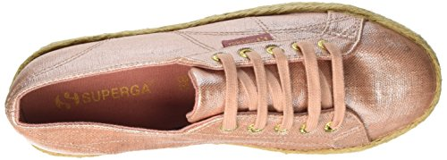 Superga 2790 Linrbrropew, Basses Mixte Adulte Pink (rose Gold)
