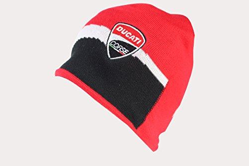 Ducati Racing Mütze/Beanie, Rot/Schwarz