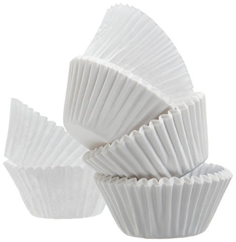 Reynold Best Quality Standard Size White Cupcake Paper - Baking Cup - 2 Packs Cup Liners 500 Pcs by Reynold Reynolds Baking Cups