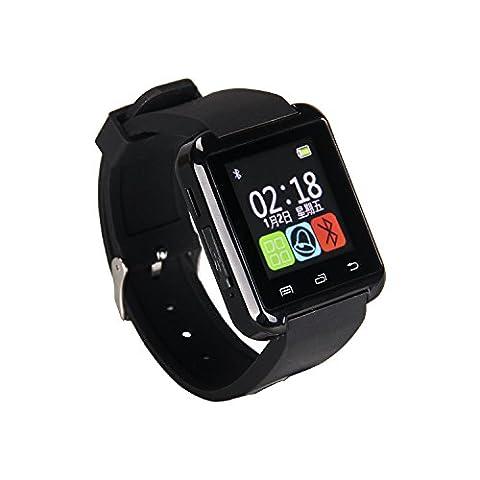 eJiasu Écran New U Montre Bluetooth montre Smart Watch montre-bracelet