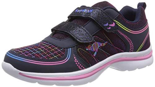 KangaROOS Unisex-Erwachsene Kangagloss Sneaker, Blau (Dk Navy/Multi 4218), 42 EU