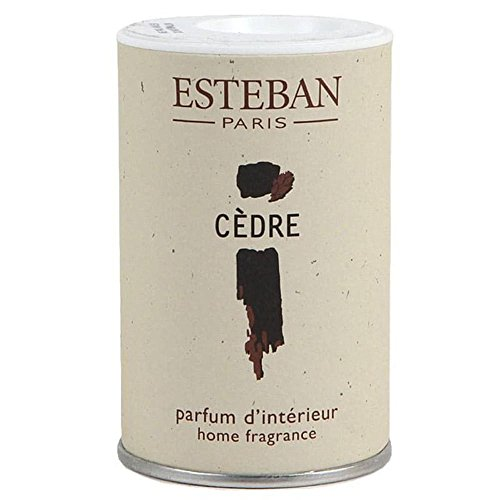 Poudre parfumée Cèdre pour aspirateur - Esteban
