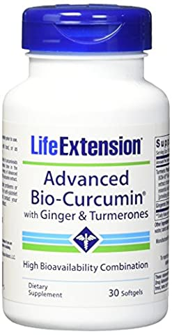 Advanced Bio-Curcumin, with Ginger & Turmerones, 30 Softgels - Life Extension