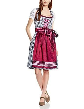 Fuchs trachtenmoden vestito alla tirolese con grembiule da for Amazon offerte abbigliamento