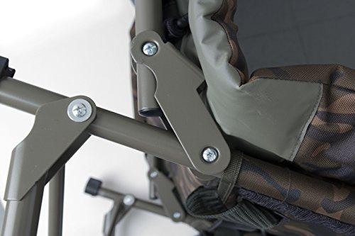 Fox R1 Camo Compact Bedchair - 5