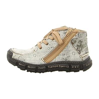 Rovers Schuhe Stiefelette 401 GREY grey (grau) NEU