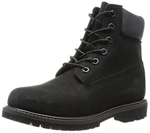 Timberland Damen 6 6in Premium Boot-W Kurzschaft Stiefel, Schwarz (Black Waterbuck), 38 EU