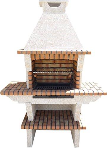 Barbecue de jardin en pierre