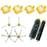 J&T Kit d'accessoires pour aspirateur iRobot Roomba 700 Series 760 770 780 790,...