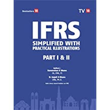 IFRS Simplified with Practical Illustration Part 1 & 2 (Set of Two Books) (English Edition)