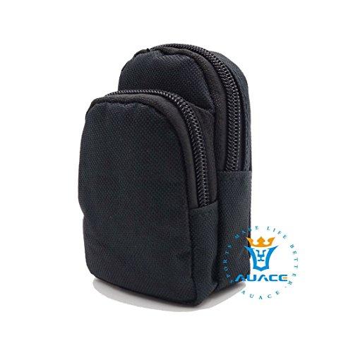 Multifunktions Survival Gear Tactical Beutel MOLLE Tasche-Epauletten Tasche, Outdoor Camping Tragbare Travel Bags Schlüssel mümzbörse BK