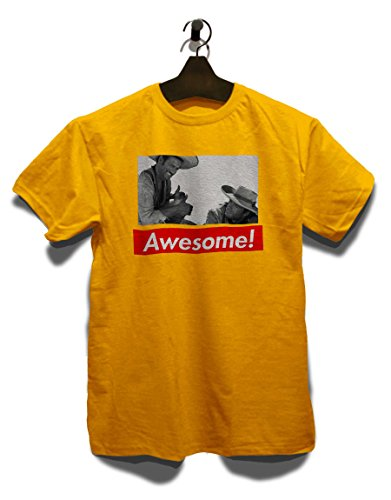 Awesome 82 T-Shirt Gelb