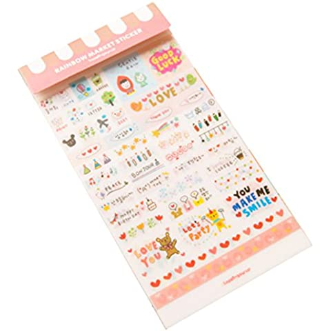 Beauty*Top*Picks, biglietti per Scrapbooking, motivo: