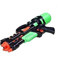 CHRISLZ Summer Pulling Tipo de agua de alta presión pistola de peso ligero Beach Play Water Battle Niños Interactive Toy Gun con bomba