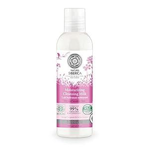 Natura Siberica Latte Detergente Struccante Viso, Idratante per Pelli Secche e Sensibili - 200 ml