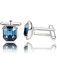 Mt Depot Tresor Gemelos, diseño de cristales de Swarovski, color azul