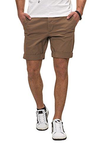 Jack & Jones Herren Chino Shorts Chinohose Bermudas (M, Dark Camel)