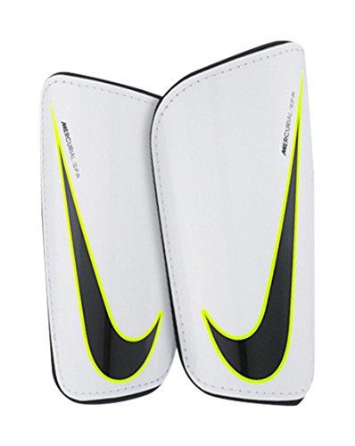 Nike Mercurial Hardshell Schienbeinschoner, White/Black, L